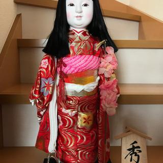 【無料】秀月の市松人形 15号 箱つき