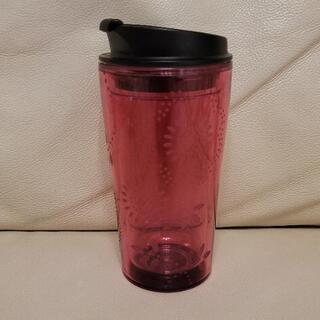 タンブラー プラスチック ピンク