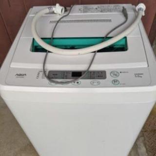 AQUA(サンヨー) AQW-S502 全自動洗濯機  5kg ...