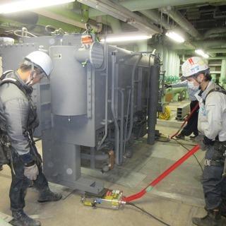 ビル、商業施設への空調機器据付作業です。本隊の職人急募!