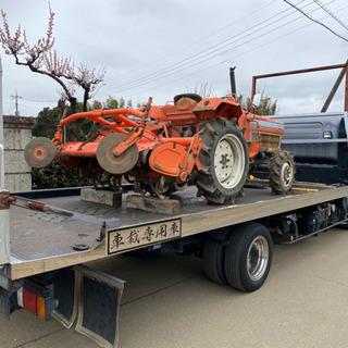 長野 山梨 陸送 回送 全国陸送 トラクター 農機具 リフト 車など