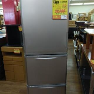 J057★6か月保証★3ドア冷蔵庫★SHARP  SJ-W352B-N  2016年製         の画像