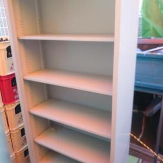 【人気の書庫入荷】コクヨ オープン書庫 キレイめ ホワイト スチール製