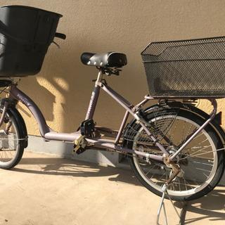 子供乗せ自転車2人乗り用