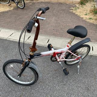 値下げ 折りたたみ自転車 ジャンク