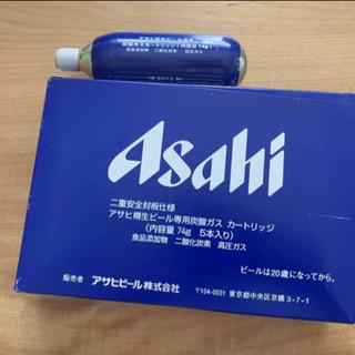 【ネット決済・配送可】アサヒ炭酸ガスカートリッジ74g×4本