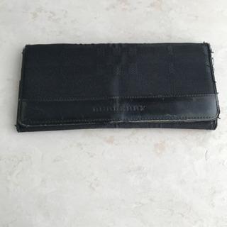 バーバリー ブラック 長財布