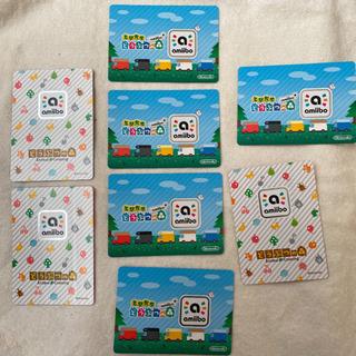 どうぶつの森 amiiboカード 8枚 - 熊本市
