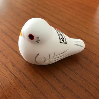 箱崎宮の鳥の置物 未使用