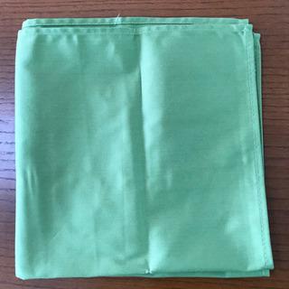 緑の大判の布 未使用