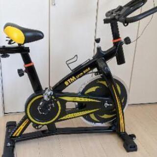 スピンバイクBTM黄色の画像
