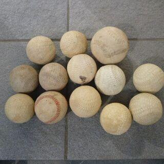 野球のボール色々13個の画像
