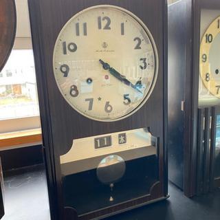 振り子時計 柱時計 アイチ製 動作品