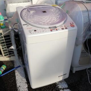 シャープ 7kg 洗濯機 人気の穴なし槽