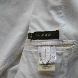 Henry Cottons 白 テーラードジャケット ヴィンテージ − 滋賀県