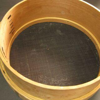 馬毛製 高級漉し器 木製曲げわっぱ 新品未使用品