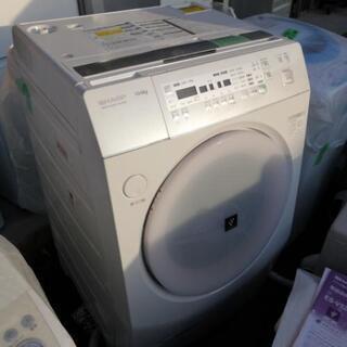 シャープ 10kg ドラム式洗濯機 取説有ります