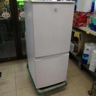 シャープ SHARP 137L 冷凍冷蔵庫