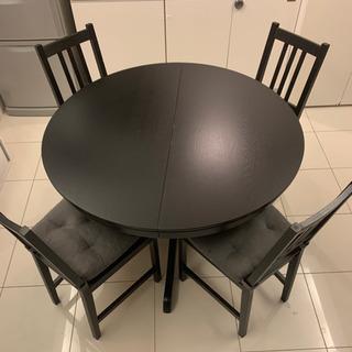 IKEA INGATORP インガートルプ  伸長式テーブル