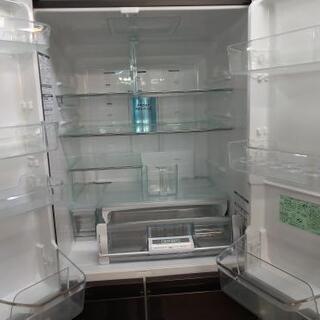 ⭐ジモティー限定特別価格⭐J089★6か月保証★6ドア冷蔵庫★HITACHI  R-B5200(XT)  2012年製⭐動作確認済⭐クリーニング済           - 名古屋市