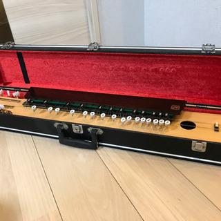【決まりました】大正琴 菊八重 F28RP   ハードケース付き の画像