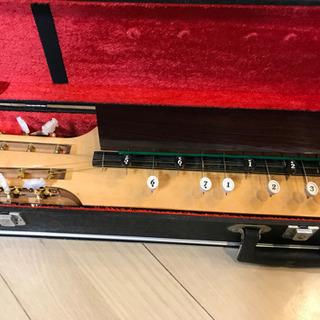 【決まりました】大正琴 菊八重 F28RP   ハードケース付き  − 大阪府