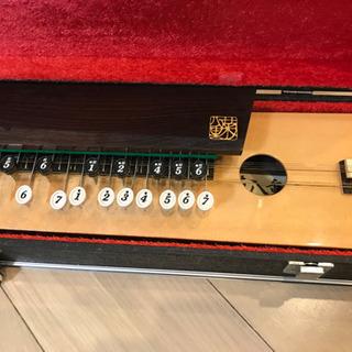 【決まりました】大正琴 菊八重 F28RP   ハードケース付き  - 売ります・あげます