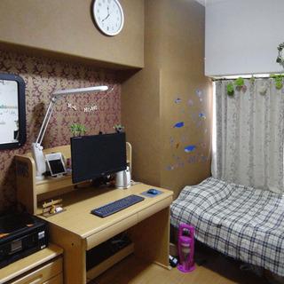 室見駅間近、家具付き、水電WiFi込、マンション8階
