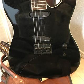 【決まりました】SAMICK   サミック エレキギター 弦切れあり 動作未確認 ソフトケース付き 現状品 - 大阪市