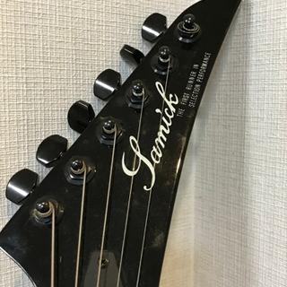 【決まりました】SAMICK   サミック エレキギター 弦切れあり 動作未確認 ソフトケース付き 現状品 − 大阪府