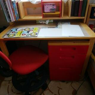 学習机と椅子 くろがね工作所