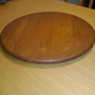 木製回転テーブル台 テレビ・パソコン回転台 ターンテーブル
