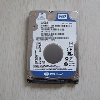 WD3200LPVX 7mm 2.5インチHDD 320G…