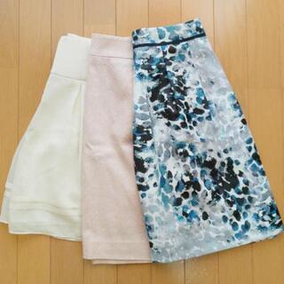 美品♥️春夏向けの綺麗なスカート 3着まとめ売り S~M