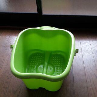 足湯バケツ 緑