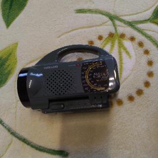 防災に!ラジオ付きライト