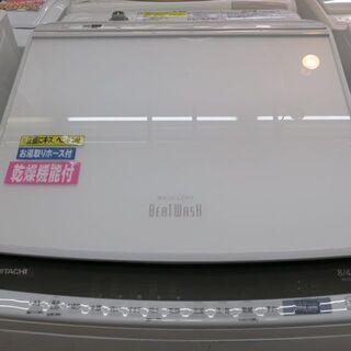 HITACHI BW-DV80E 2019年製 全自動洗濯乾燥機...