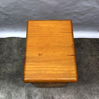 大特価!木製ワゴン キッチン収納 3段 キャスター付き ストッカー  幅30cm キャビネット E - 福井市