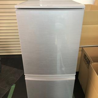 SHARP 冷蔵庫 SJ-14Y-S 2014年製