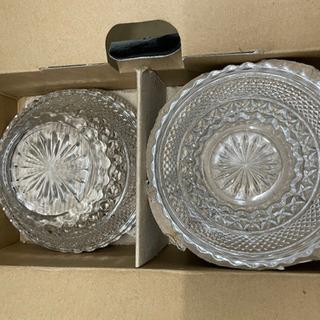 インドネシア産 ガラス皿セット  リサイクルショップ宮崎屋21....
