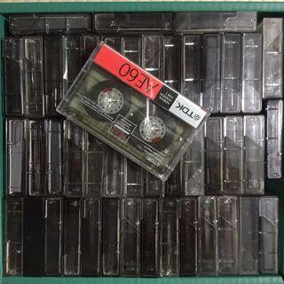 2,3回使用済みカセットテープ。60~120分。大量にあります。...