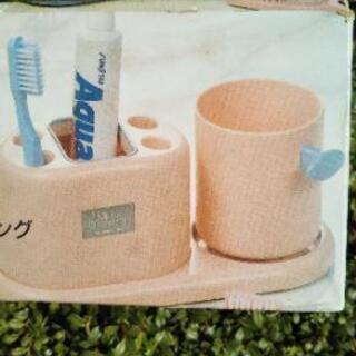 ★歯ブラシ&歯磨き粉置き★コップ付き★