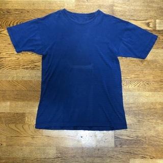 紺ボーダー Tシャツ M