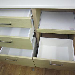 R205 NITORI キッチンボード、食器棚、幅104cm  - 家具