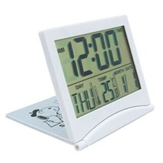 非売品 スヌーピー折り畳み式デジタル時計