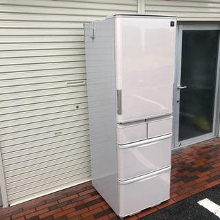 美品■SHARP 冷蔵庫 424L プラズマクラスター 両…