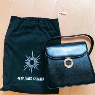 オケージョン 卒業、入学式などに!黒のハンドバッグ