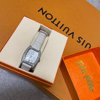 フォリフォリ 白 腕時計