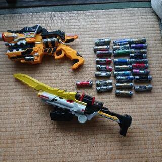 キョウリュウジャー ガブリボルバー ガブリカリバー 獣電池 セット