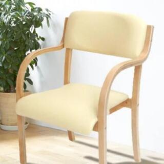 肘置き付き椅子
